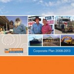 Cover of the IBA Corporate Plan 2008-2013.