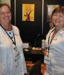(L:R) Annette Law and Janine McDonald. Image by Wayne Quilliam courtesy of the Australian Indigenous Minority Supplier Council.