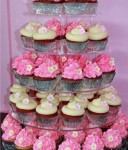 A selection of cupcakes on display at Stormie D's Cupcakery, East Albury. Image courtesy of Stormie Dutton.