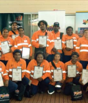 Graduates of the PIMA program