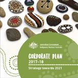 IBA Corporate Plan 2017-18 cover image