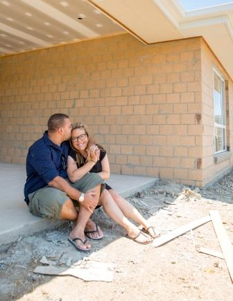 Alex and Daniel moved into their newly constructed home in February 2015.