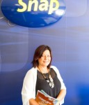 Owner of Snap Underwood, Karen Seage.